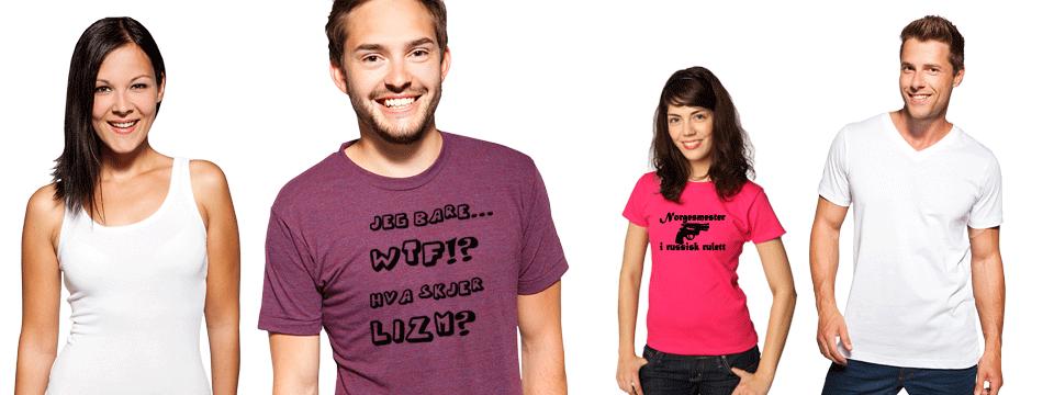 c249903a T-skjorter. Design egen t-skjorte med trykk! | T-skjorte.net